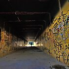 Graffiti Tunnel by yolanda