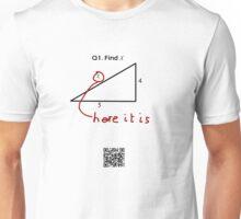Find 'x' teeshirt Unisex T-Shirt