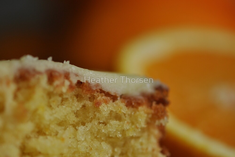 Orange Drizzle Cake by Heather Thorsen