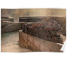 Charlestown Harbour Poster