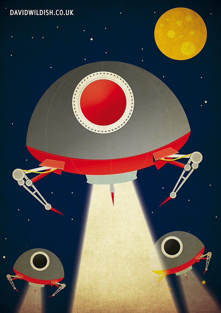 Space Raiders by David Wildish