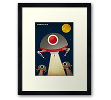 Space Raiders Framed Print