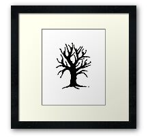 Dancing Tree Framed Print