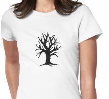 Dancing Tree Womens Fitted T-Shirt