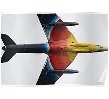 Hawker Hunter G-PSST Poster