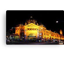 """Flinders Street Station"" Canvas Print"