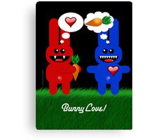 BUNNY LOVE! Canvas Print