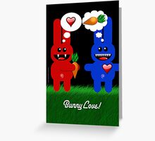 BUNNY LOVE! Greeting Card
