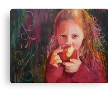Want a Bite? Canvas Print