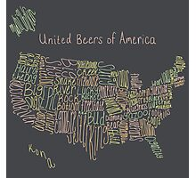 United Beers of America Photographic Print