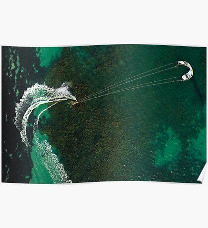 Kite Surfing in Western Australia #1 Poster