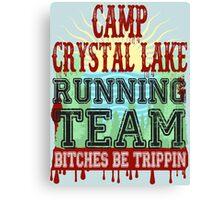 Camp Crystal Lake Running Team Canvas Print