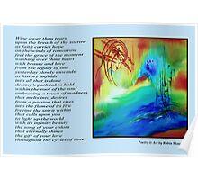 Poetry in Art - Destiny's Path Poster