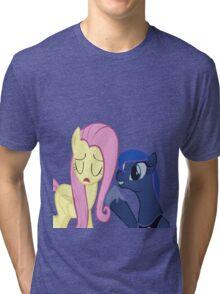 Fluttershy And Luna Tri-blend T-Shirt