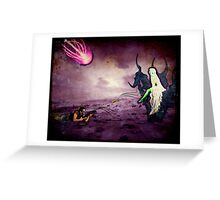 Assault on Malefica (Queen of the Mysteroyds) Greeting Card