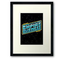 The Empire Business Framed Print