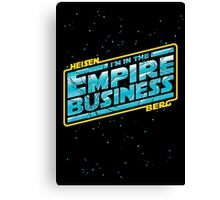 The Empire Business Canvas Print