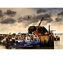Harbour weather Photographic Print