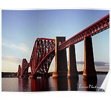 FORTH RAIL BRIDGE SCOTLAND Poster