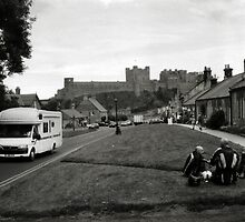 In the village of Bamburgh by Richard Flint