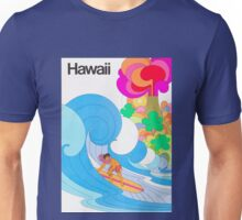 Hawaii Travel Poster Unisex T-Shirt