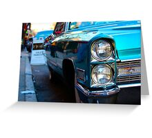 cadillac. Greeting Card