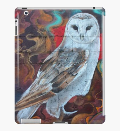 Graffiti Owl iPad Case/Skin