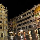 Golden Roof at night, Innsbruck by avresa