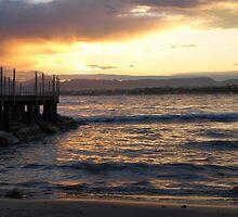 Sunset Pier by photoshot44