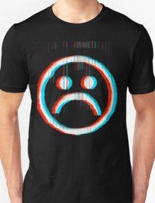 Sad Glitch Unisex T-Shirt