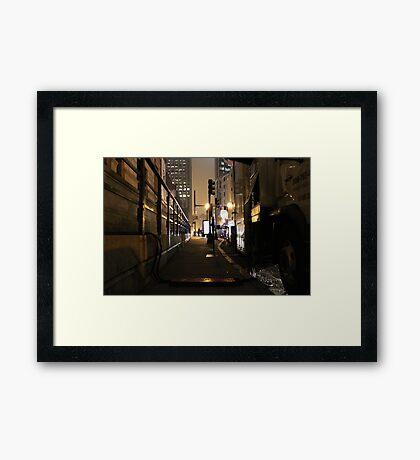 Boston. Framed Print