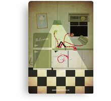Kreepy Kitchen Canvas Print