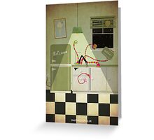 Kreepy Kitchen Greeting Card