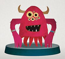 Red Monster by David Wildish