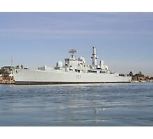 Royal Navy British Warship Photographic Print
