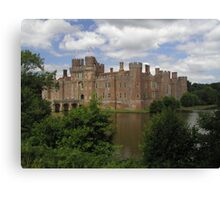 Hertsmonceux Castle, England Canvas Print