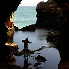 Into the Grotto, Great Ocean Road by avresa