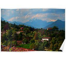 Bergamo Canvas Poster