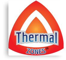 Thermal Zones Canvas Print