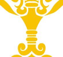 Zodiac Sign Libra Gold Sticker