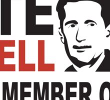 Vote Orwell Sticker