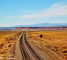 I hear a train a coming  New Mexico by Donna Anglin Husband
