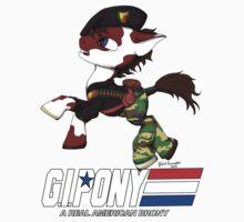 G.I. Pony Baby Tee