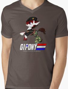 G.I. Pony Mens V-Neck T-Shirt