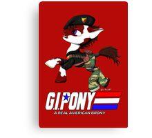 G.I. Pony Canvas Print