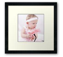The Flower Angel  Framed Print