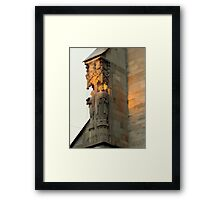 First ray of sun  Framed Print