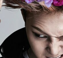 G-Dragon Flower Crown Sticker