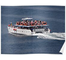 Catamaran-Excursion  Poster
