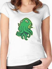 Call of Kerthulhu Women's Fitted Scoop T-Shirt